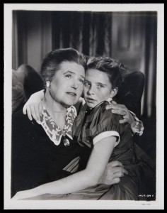 LL with Big City co-star Margaret O'Brien