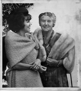Lotte Lehmann and Mildred Miller 1965