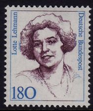 German Lehmann stamp