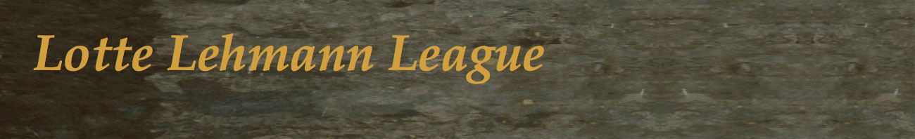 Lotte Lehmann League